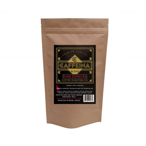 Caffeina Roasting Company Dark Sumatra Coffee Blend