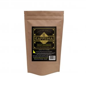 Caffeina Roasting Company Decaf Colombian Coffee Blend