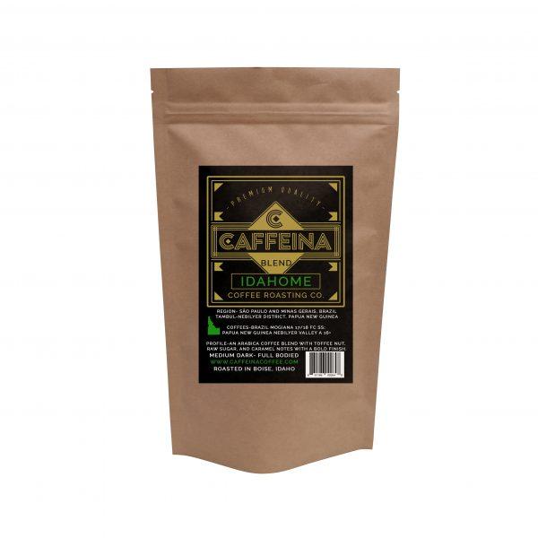 Caffeina Roasting Company Idahome Coffee Blend